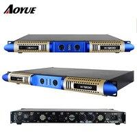 Новейший 2 канала 1 U 1200 Вт цифровой Класс D professional усилитель мощности
