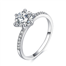 Women Wedding Band CZ Rings Jewelry