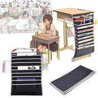 Cobee 10 Layers Multifunctional Desk Book Hanging Bags Student Files Pen Storage Pouch