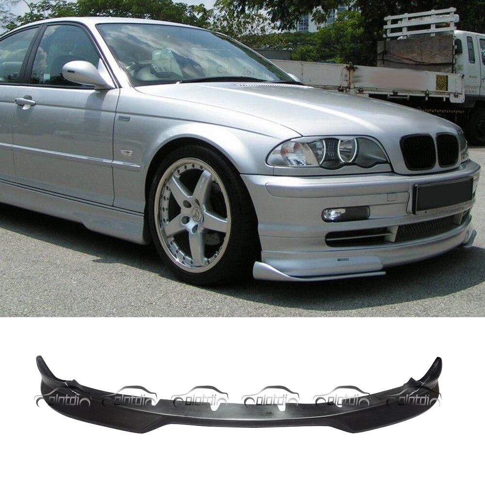Pour BMW E46 2 portes 2001-2005 E46 PU matériel voiture style avant lèvre pare-chocs Spoiler peut être peint