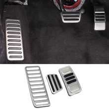 Accelerator Pedal Brake-Pedal-Cover Ford-Mustang Stainless-Steel Trim QHCP Fit-For Car-Left-Side