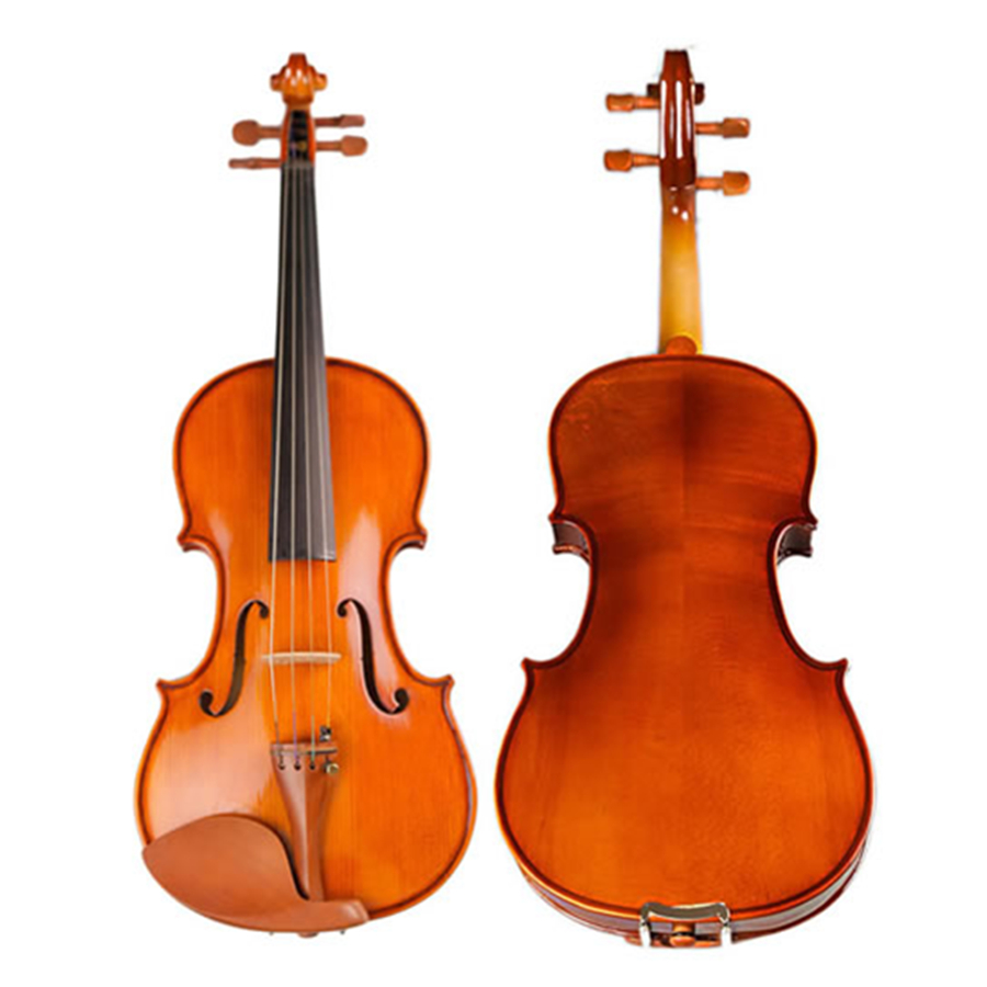 Handmade Violin fiddle High Quality Stringed Musical Instrument Violino 4/4 Maple  Violino with violin bow case for beginner free shipping high quality 4 4 violin send violin hard case handmade white black electric violin with power lines