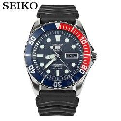 Seiko часы мужские 5 автоматические часы люксовый бренд водонепроницаемые спортивные наручные часы Дата мужские часы для дайвинга relogio masculin ...