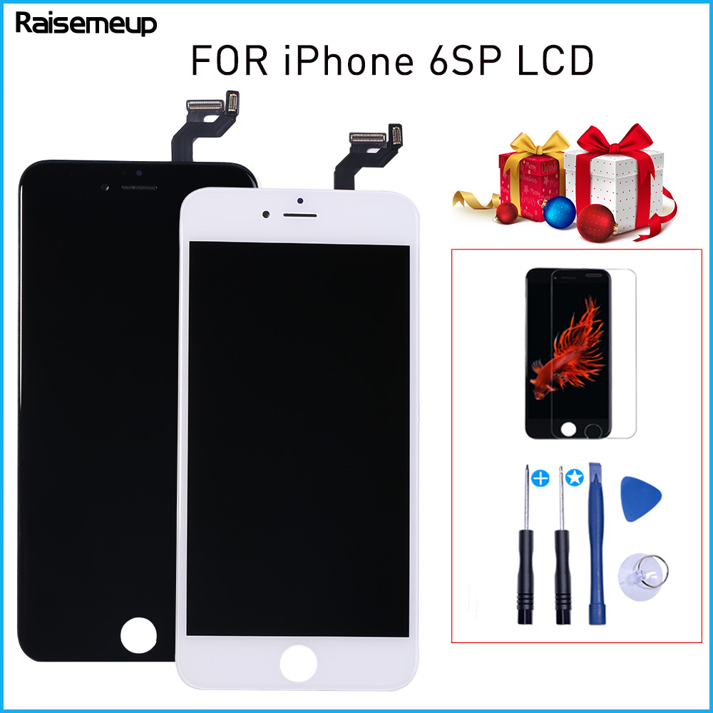 Lcd for iPhone 6s plus LCD Display with Touch Screen Digitizer frame Assembly Good quality LCD For Iphone 6sp A1634 A1687 A1699 image