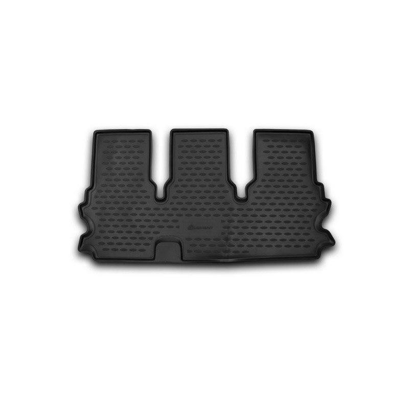 Mat interior For TOYOTA Highlander 2014->, 3D series, 1 PCs (polyurethane) wiper blades for toyota highlander 26