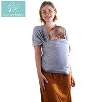 EGMAO BABY Neue Baby Sling Baby Carrier Wrap Für Neugeborene Gestreiften Baumwolle Elastizität Känguru Infant Rucksack Für Toddle & Kleinkinder