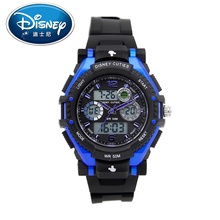 Disney Men Children Watch Kids Genuine Brand Boy Date Luminous Fashion Cool Water resistant Digital Wristwatches Sports clock