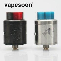 VapeSoon Goon V1.5 RDA Ecigarette Rebuildable Dripping Atomizer 24mm vs Goon 528 RDA fit 510 E Cigarette Mod