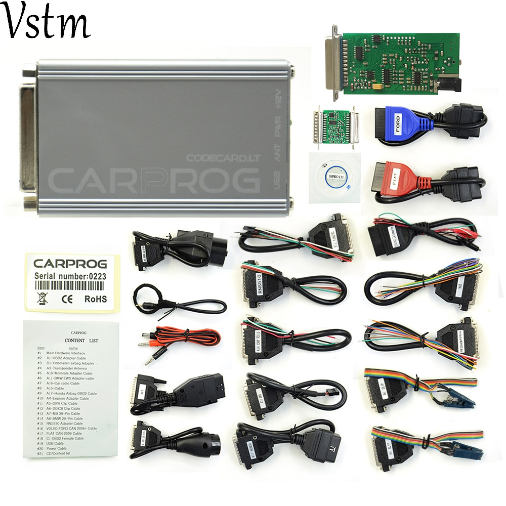 Perfect Online Version CARPROG V8 21 Add More Authorization With