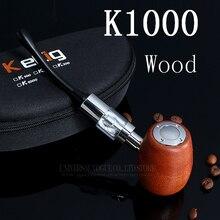 Cigarette électronique Chine E-pipe En Bois Style Mod Vaporisateur Mod Électronique Narguilé Kamry K1000 Kit 18350 Batterie X8050