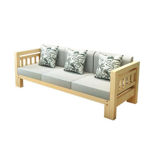 Mobilya Futon Couche For Zitzak Kanepe Puff Para Meble Do Salonu Wooden Retro Set Living Room