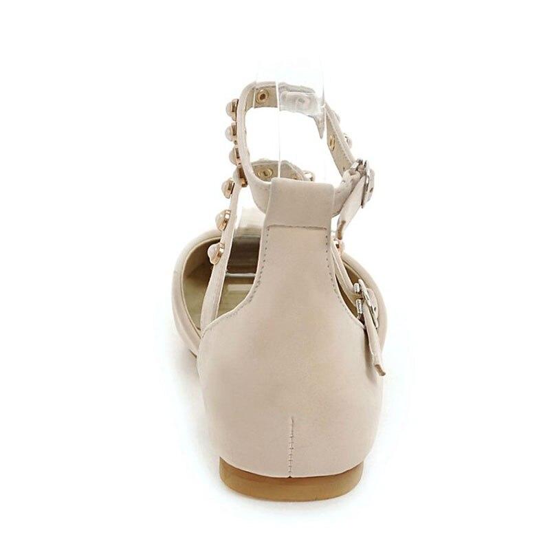 JOJONUNU Women Open Toe Flats Sandals