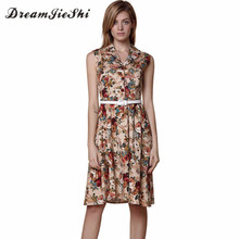 Summer Women Retro Dress Audrey Hepburn Floral 50s 60s Rockabilly Party Prom Cocktail Tea Party Women Dresses Female Vestidos