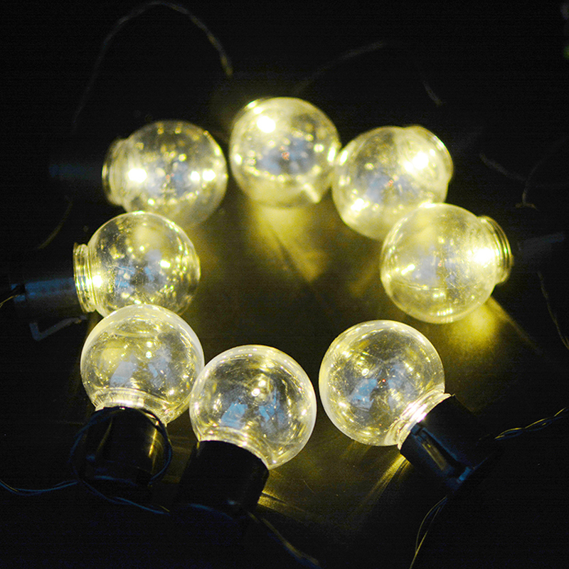 Solar Patio Light Bulb String Lights Christmas Solar Led Garden Lighting  Decoration Lamp For Weeding Party Festival ALUVEE