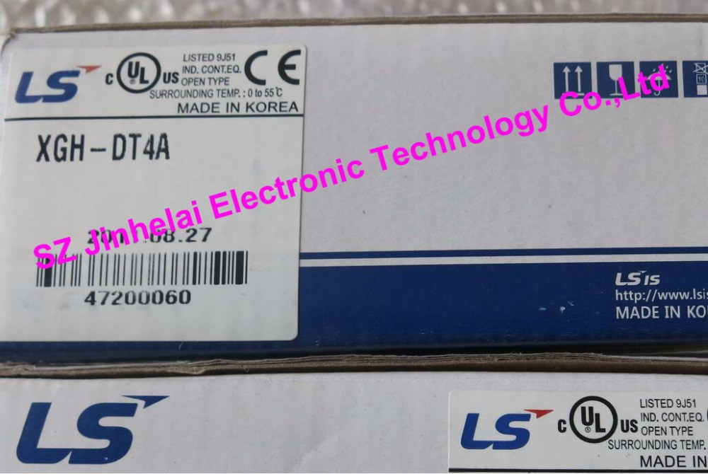 100% New and original XGH-DT4A LS(LG) PLC Hybrid I/O, DC24V Input 16 Points, Tr. Output 16Points цены