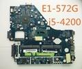 Para ACER LA-9531P V5WE2 NBMFP1100B E1-572G Placa Madre Del Ordenador Portátil Mainboard 100% probado y funciona plenamente