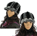 free shipping fashion winter hat knitted  100% real rabbit fur many colorful warm cap hot sales