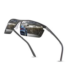 Fashionable Sunglasses Classic Male Polarized Sunglasses Men's Aluminum Magnesium Alloy Sun Glasses Resin Lens Glasses UV400 f225 fashionable zinc alloy frame resin lens uv400 protection sunglasses silver