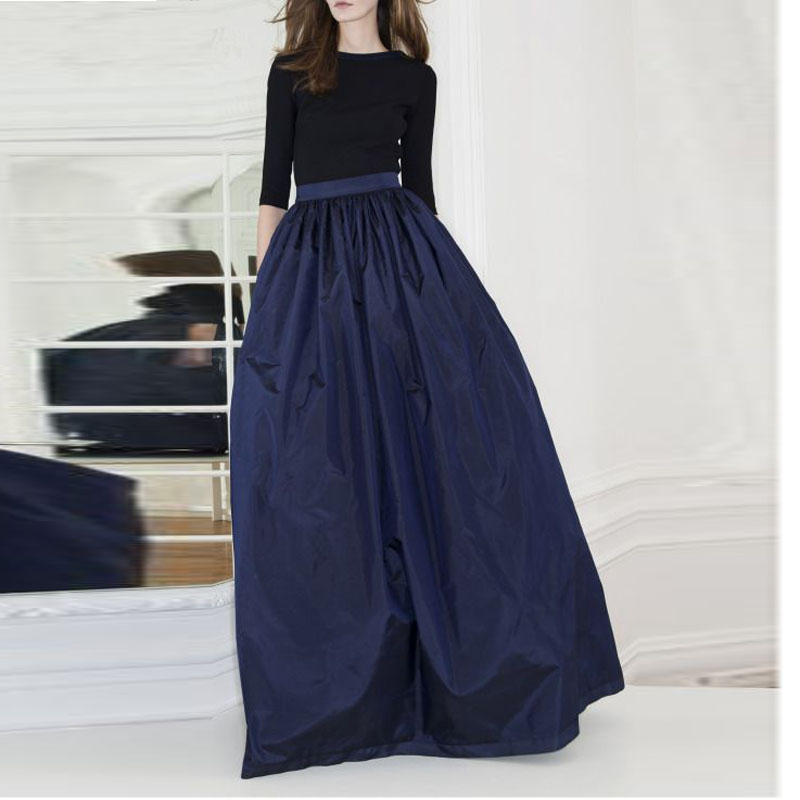 Long Navy Skirt Promotion-Shop for Promotional Long Navy Skirt on ...
