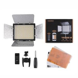 Image 5 - Yongnuo YN300 III YN 300 III 3200k 5500K CRI95 מצלמה תמונה LED וידאו אור אופציונלי עם AC כוח מתאם + סוללה ערכת