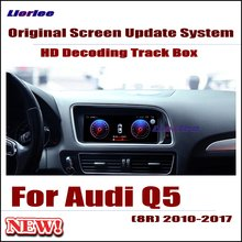 Original Car Screen Update Decoder For Audi Q5 (8R) 2010-2017 MMI system Parking Rear view Camera Carplay Interface Adapter include car reversing camera for audi a6 2016 mib2 interface adapter backup parking rear view camera connect original screen
