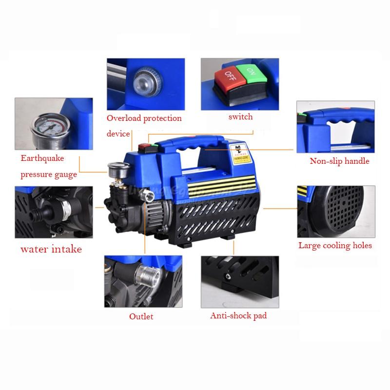 No tax to EU RU HAIMAO high pressure car washer 220v  household car washing machine ru eu no tax automatic lt 60 plane self adhesive label machine