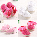TongYouYuan Summer Infant Toddler Princess First Walkers Newborn Baby Girls Kids Prewalker Shoes Bow Dress Shoes 6Colors 3Sizes