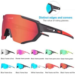 Image 3 - X TIGER Photochromic Polarized Cycling Glasses Outdoor Sports MTB Bicycle Bike Sunglasses Goggles Bike Eyewear Myopia Frame