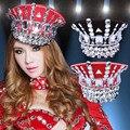Mulheres pedra de diamante chapéu cap fotografia estúdio adereços traje trajes Secretário para o filme cantor dancer mostrar festa