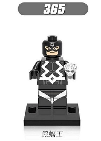 XH 365 Single Sale Building Blocks Super Heroes Black Bolt Doctor Strange Baron Mordo Action Figures Bricks Children Gift Toys