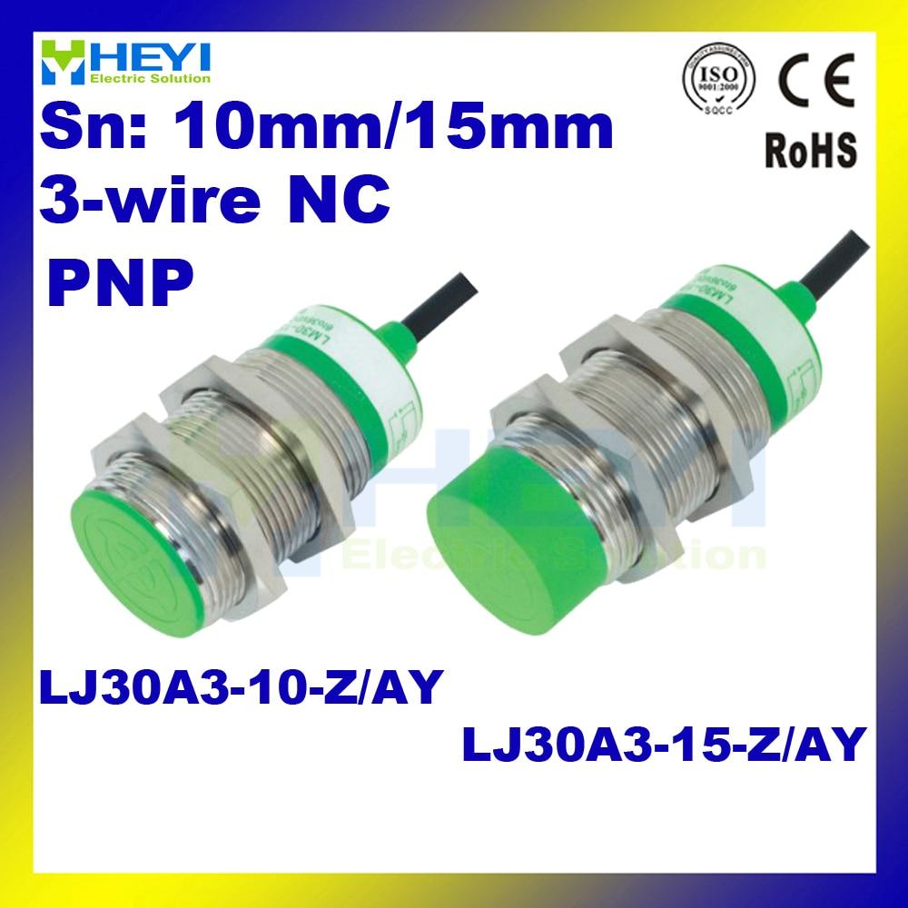 inductive proximity sensor lj30a3 15 z ay pnp dc 3 wire nc proximity switch  [ 1000 x 1000 Pixel ]