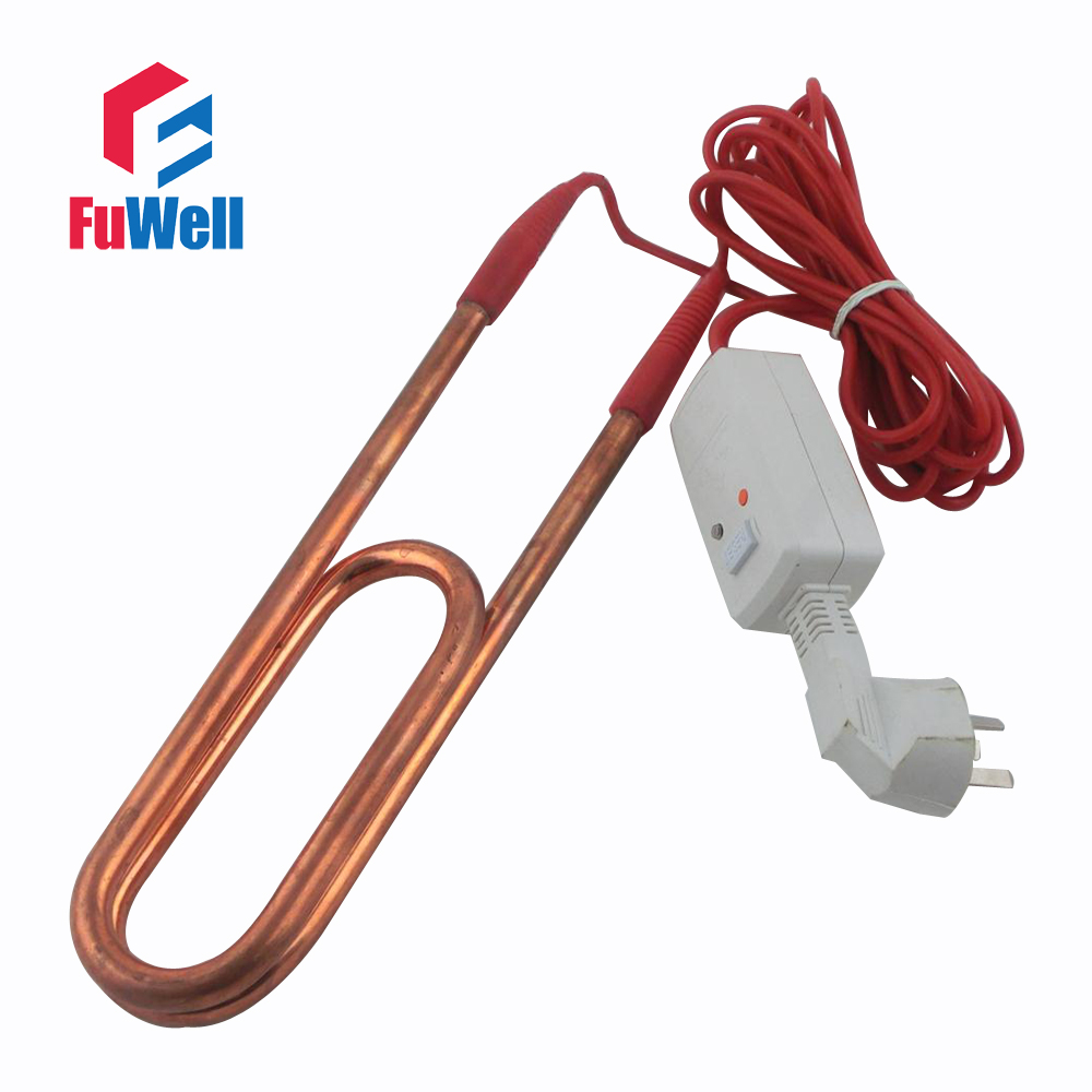 Red Copper & Stainless Steel Heating Element Electric Heating Tube Heater for Swimming P ...