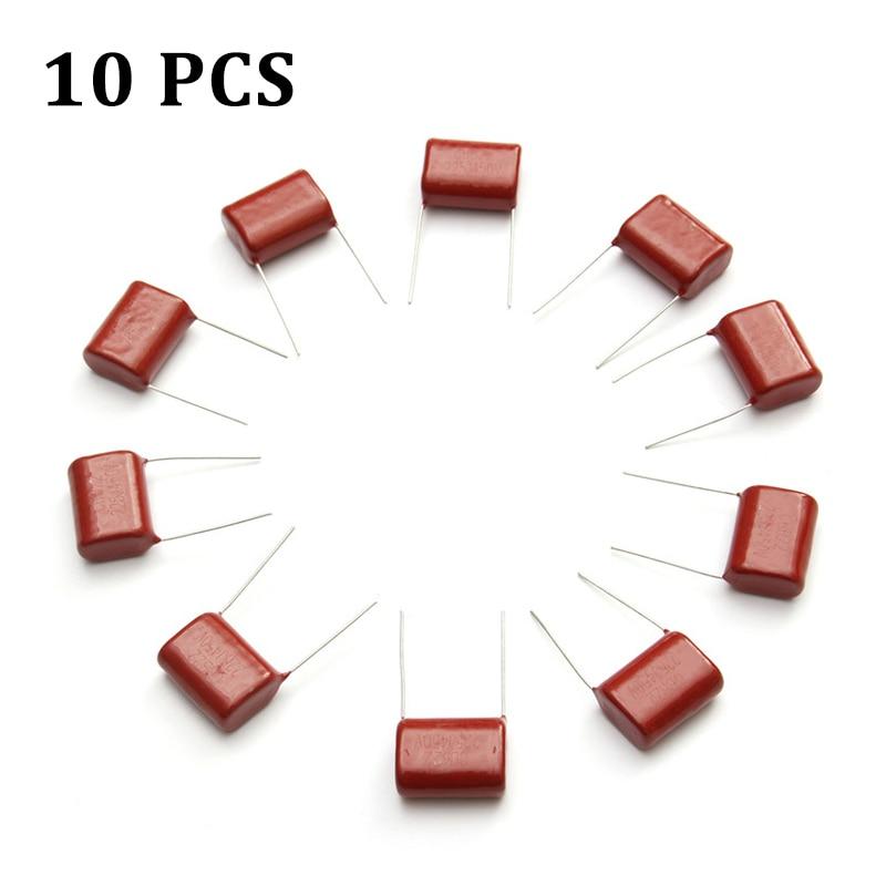 2017 New Arrival Passive Components 10PCS R285 450V 2.2uF CBB Polypropylene film capacitor pitch 20mm 225 2.2uF 450V Capacitors