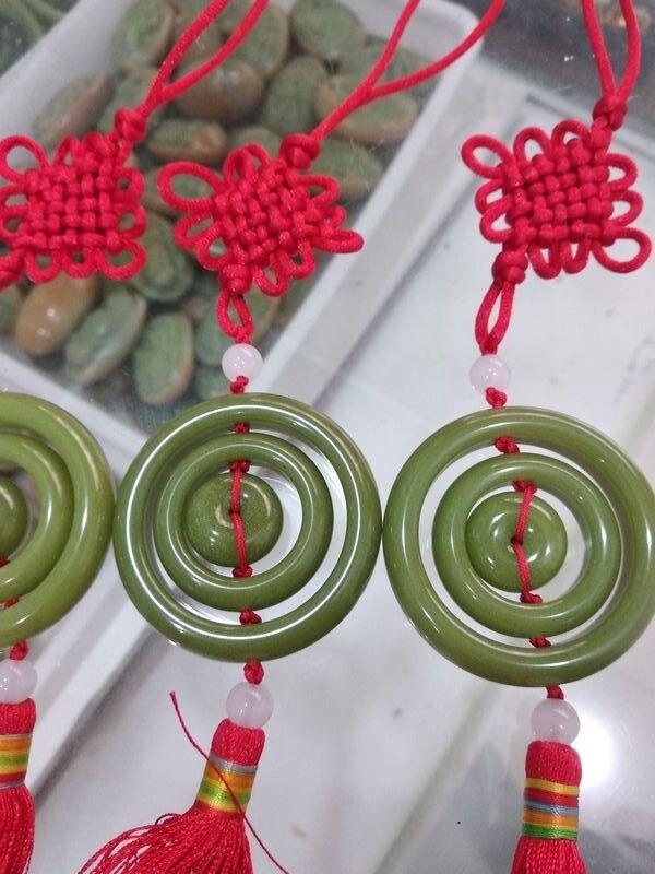 Amuleto de luz nocturna de fluorita Natural tallado a mano para coche o adornos para el hogar-in Obsequios para fiestas from Hogar y Mascotas    1