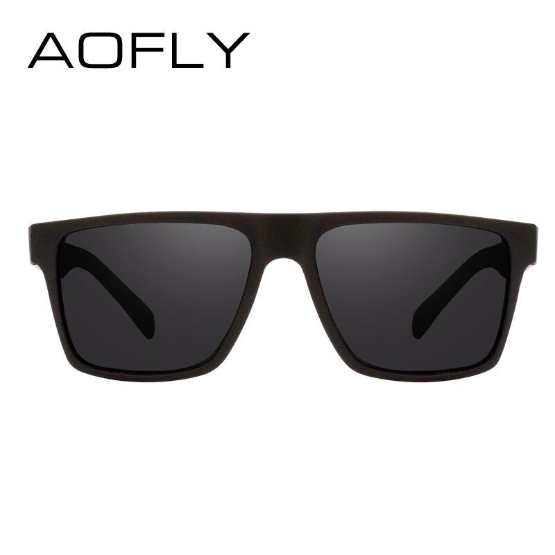 Aofly merk classic zwart gepolariseerde zonnebril mannen rijden - Kledingaccessoires - Foto 4