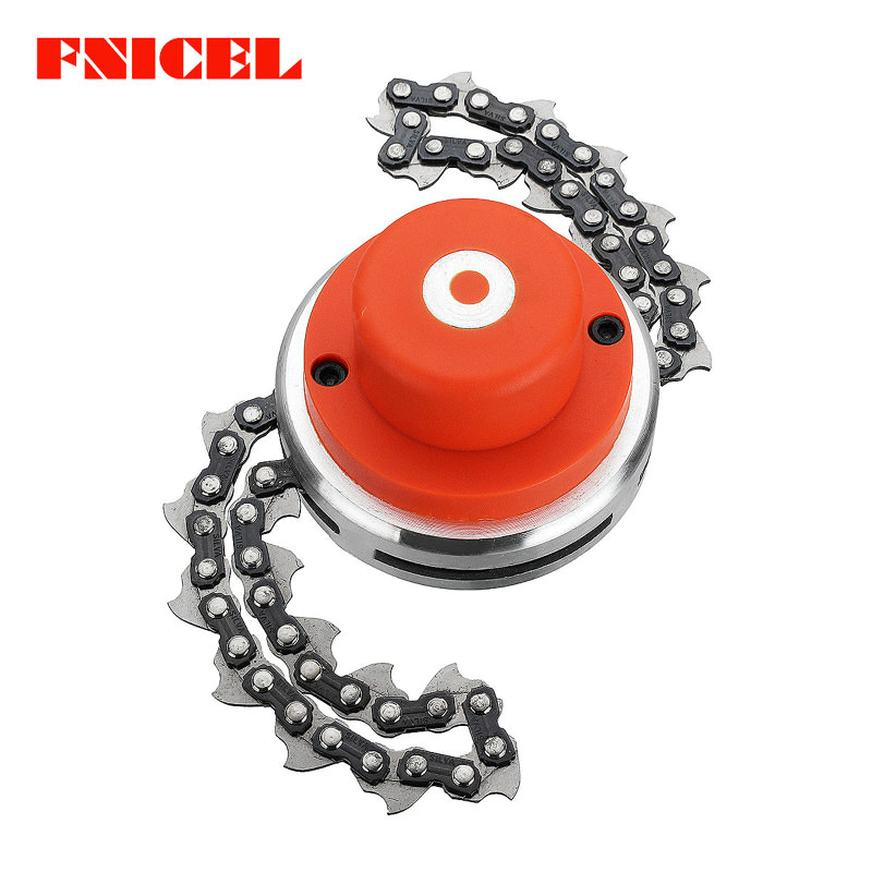 Garden Tools Objective Lawn Mower Trimmer Head Chain Brushcutter For Garden Grass Brush Cutter Tools Parts Gardening Tools Trimmer Head Chain