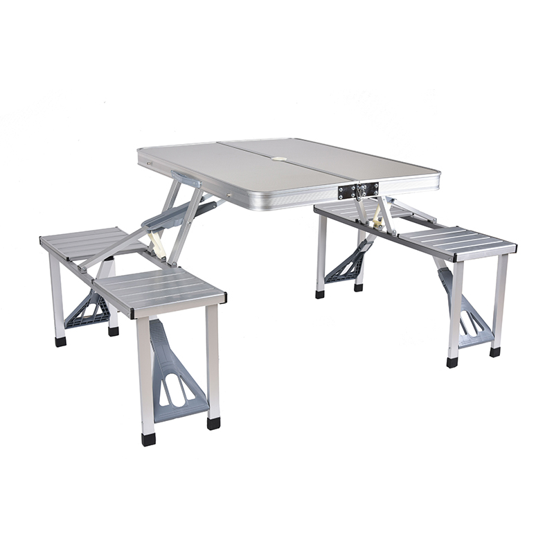 Outdoor Folding Table Chair   Camping Aluminium Alloy Picnic Table Waterproof Ultra-light Durable Folding Table Desk For