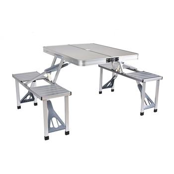 Tavoli Da Campeggio In Alluminio Pieghevoli.Tavolo Pieghevole Per Esterni Sedia Da Campeggio In Lega Di