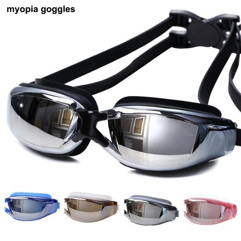 Lunettes de natation Anti-buée Protection UV Myopie Lunettes de - Sportswear et accessoires - Photo 2