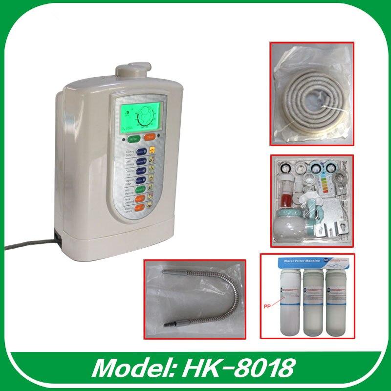 2017 The Most Popular Kangen Alkaline Water Ionizer Machine HK 8018 Up to 850mV ORP Water