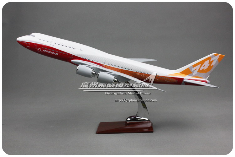 цена на 47cm Resin Prototype Airlines Airplane Model Boeing 747-800 Aircraft Model B747 Airways Airbus Model Aviation Model Collectible