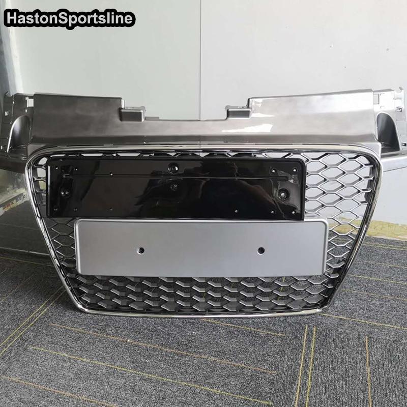 Calandre centrale de capot avant de Style TTRS modifié TT pour Audi TT TTS TTRS 2008 2009 2010 2011 2012 2013 2014