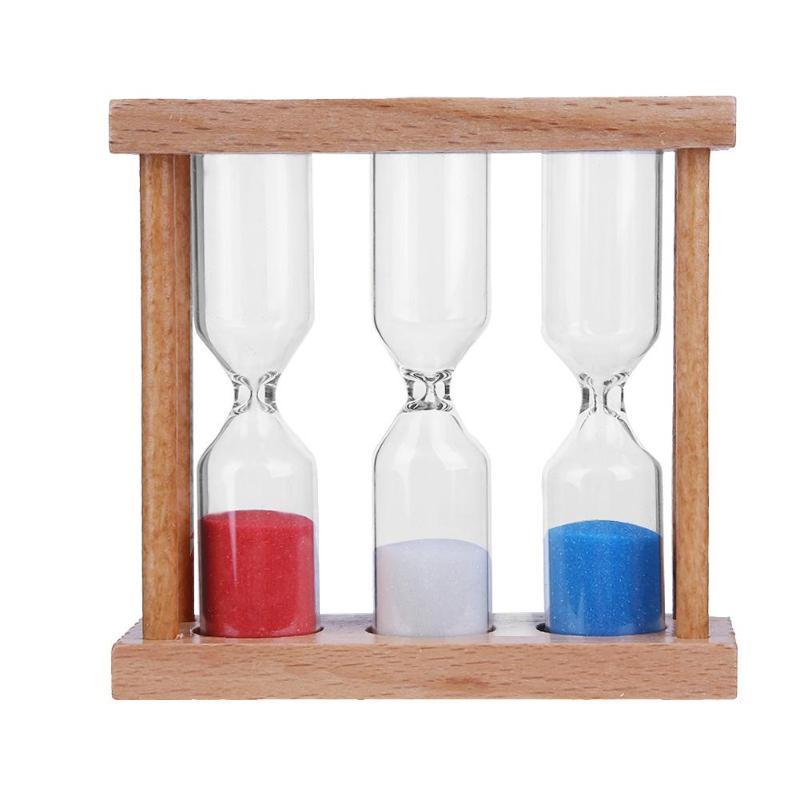 1/3/5 Minuten Holz Rahmen Sanduhr Sanduhr Sand Clock Timer Gelegentliche Farbe Für Haus Tisch Tee Dekoration Spielzeug Weihnachten Geburtstag Geschenk