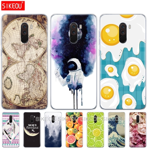 soft silicone case For Xiaomi Pocophone F1 Xiomi Poco F1 Cases Soft TPU Phone shell For Xiaomi Pocophone F1 Global F 1 Covers Lahore