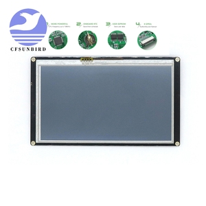 """Image 1 - NX8048K050 5.0 """"Nextion Tăng Cường Màn Hình HMI Thông Minh Thông Minh USART UART Nối Tiếp Cảm Ứng TFT LCD Module Bảng Điều Khiển Màn Hình Cho Raspberry Pi bộ"""