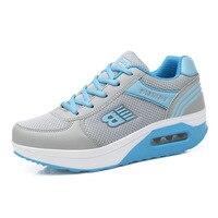 פעילויות חוצות נעלי ריצה בסיסית סגנון חדש נעלי ריצה רשת נעלי ספורט רשת נעלי ספורט נוחות לנשים