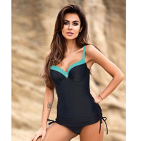 Triangle one piece swimsuit bathing suits swimsuits of large size swimsuit push up