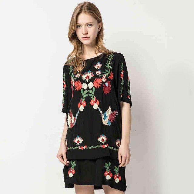 Korte losse jurk