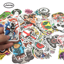 PVC Stickers Waterproof Random No Duplicates Set Of 100-1400 Pcs