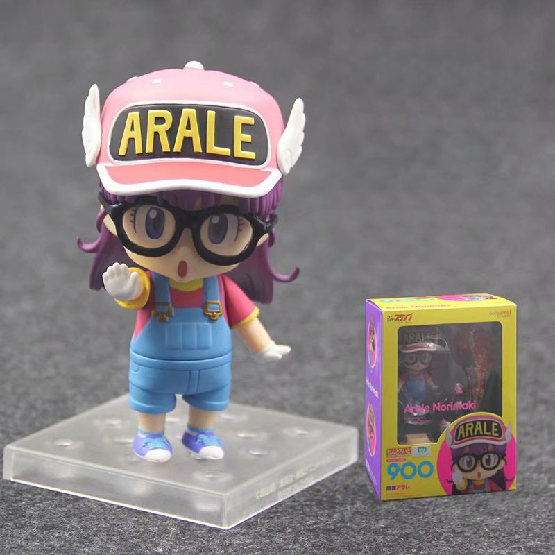 Slump Arale Norimaki Nendoroid 900 Cute Girls Action Figures Pvc Doll Model Toys Action & Toy Figures Reliable Anime Dr